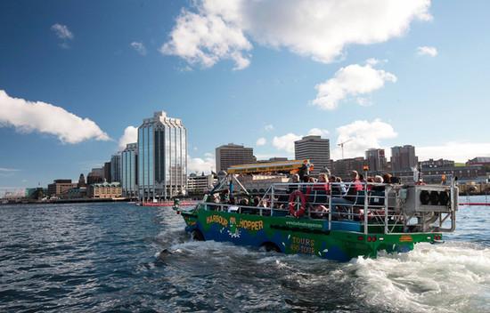 Harbour Hopper Tours - Halifax, Nova Scotia