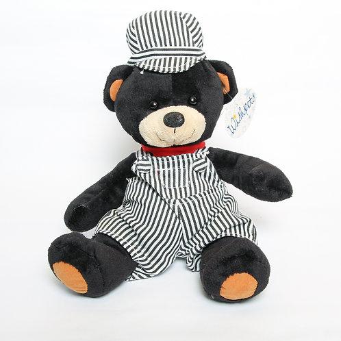Train Conductor Bear Stuffie