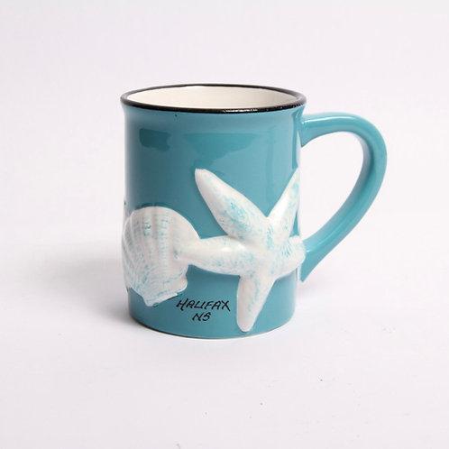 Shell & Starfish Mug