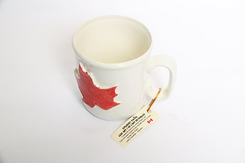 Made in Canada Leaf Art Mug