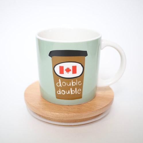 Graphic Double Double Mug