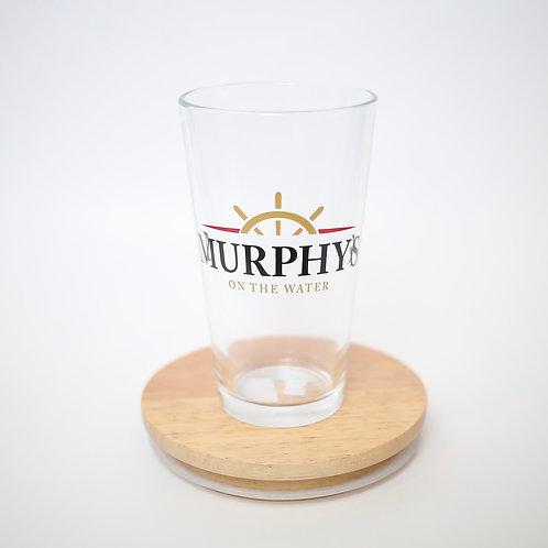 Murphy's Logo Beverage Glass