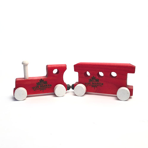 Wooden Train & Caboose