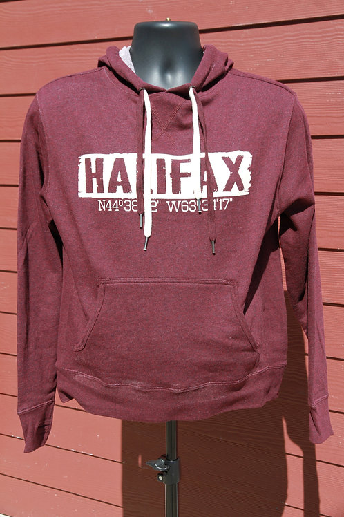 Burgundy Halifax Hoodie