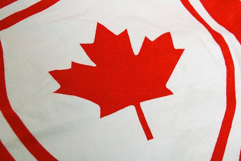 Red & White Beach Towel - Canada