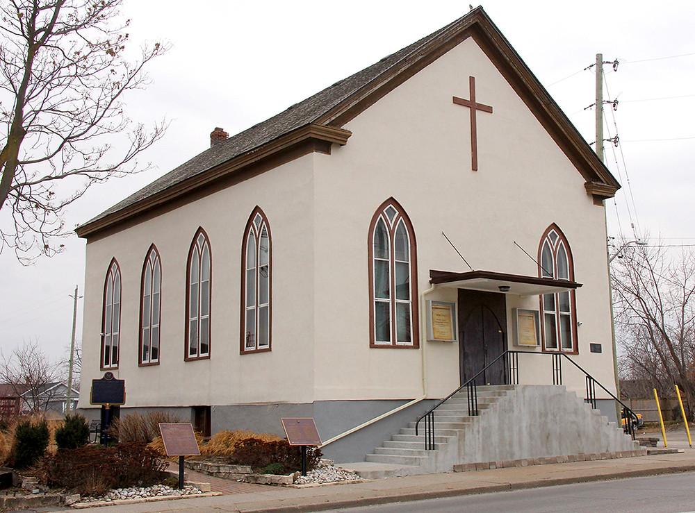 British Methodist Episcopal Church - photo by Rob Lapensee
