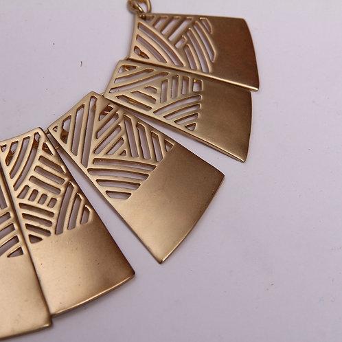 Fashion Jewelry w 'Brass' Panels