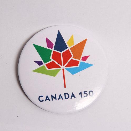 Canada 150 Round Magnet