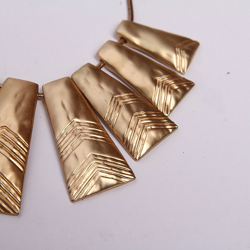 Fashion Jewelry Panel Necklace