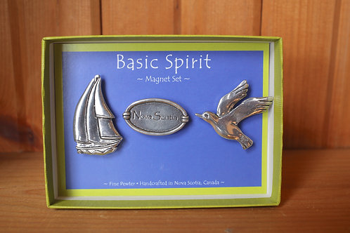 Pewter Magnet Set