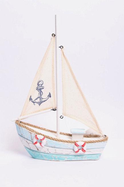 Medium Sailboat with Anchor