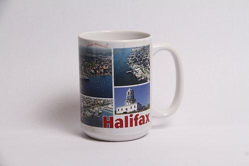 Halifax Photo Collage Mug