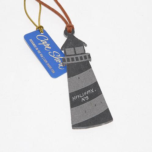Slate Lighthouse Ornament