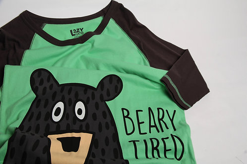Lazy One® Beary Tired PJ Shirt