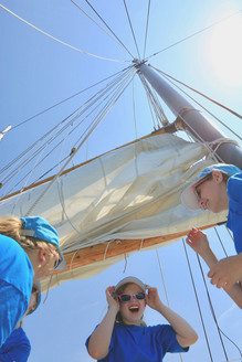 Fun aboard the Tall Ship Silva | Halifax, Nova Scotia