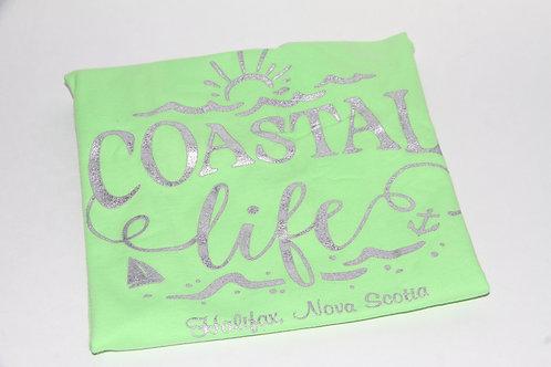 Radiate Coastal Lime Youth Tee