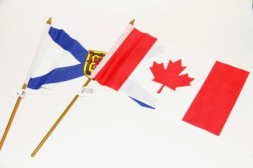 """12""""x18"""" Flag on a Stick"""