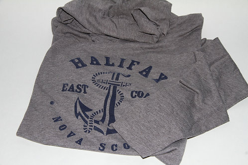 Youth Hooded Grey Anchor