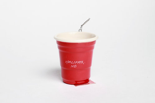 Red Party Cup Ornament