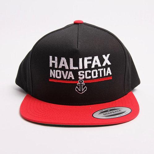Halifax Nova Scotia w Anchor Snapback Cap