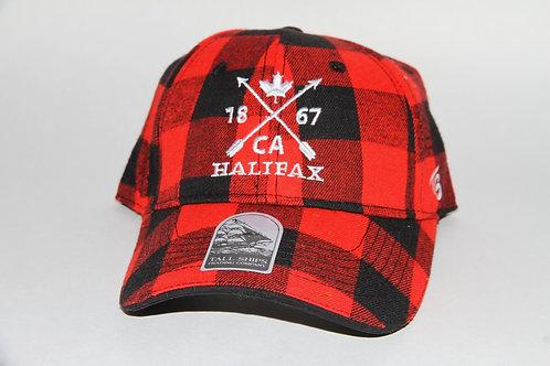 Buffalo Plaid Ball Cap