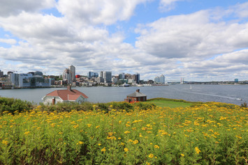 View of Halifax Skyline from Georges Island