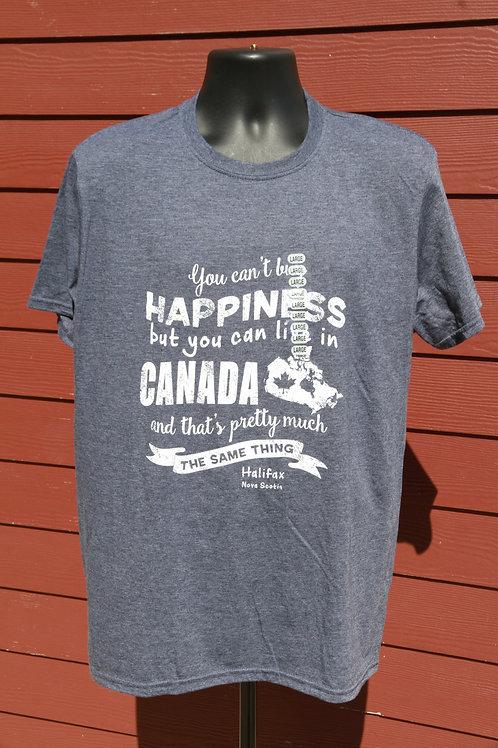 Happiness Canada Navy Tee