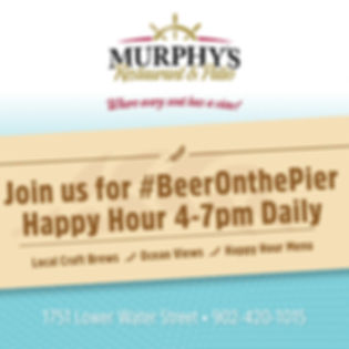Beer on the Pier at Murphy's Restaurant & Patio