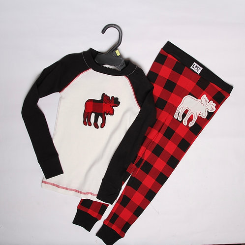 Kid's Lazy One® Moose PJs