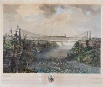Heritage Moments: Harriet Tubman crosses the Niagara Falls Suspension Bridge