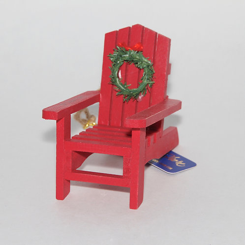 Adirondack Chair Ornament