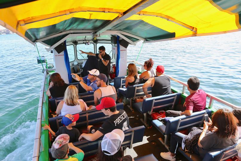 On board the Harbour Hopper Tour | Halifax, Nova Scotia