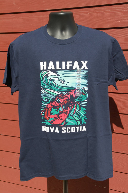 Halifax Lobster Navy Tee