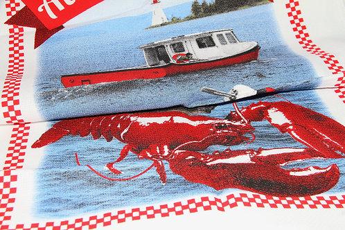 Nova Scotia Lobster Tea Towel