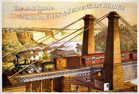 The only route - Niagara Falls & Suspension Bridge