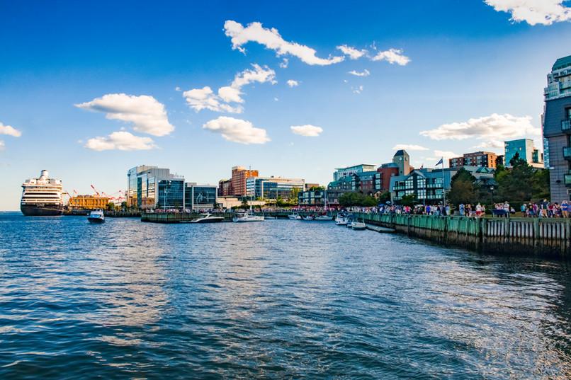 Busy Halifax Waterfront | Halifax, Nova Scotia