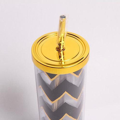 Acrylic Travel Cup w Straw