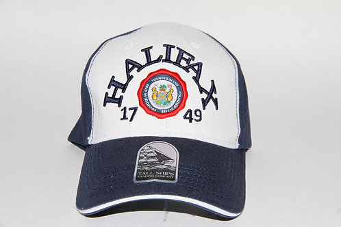 Halifax Arched Crest Embroidered Ball Cap