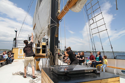 Boat Charters & Signature Events on the Tall Ship Silva