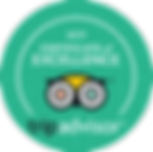 Harbour Hopper Tours TripAdvisor 2019 Certificate of Excellence