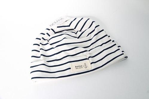 Nautical Stripe Beanie Hat