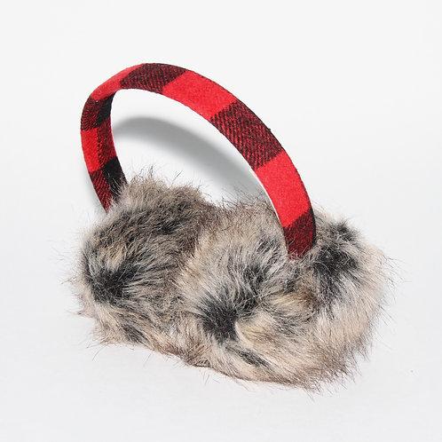 Buffalo Plaid Ear Muffs