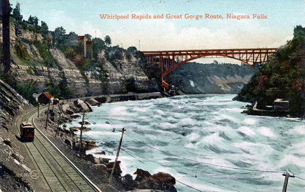 Whirlpool Rapids Bridge and Great Gorge Route, Niagara Falls