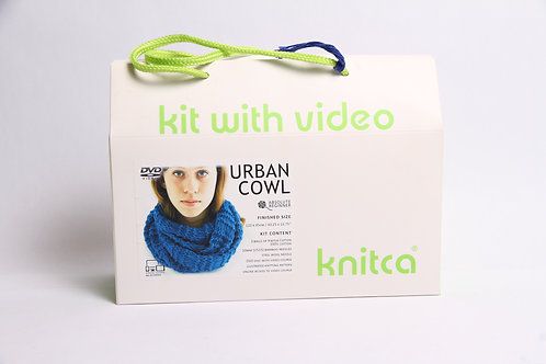 Knitca© Learn to Knit Cowl Kit