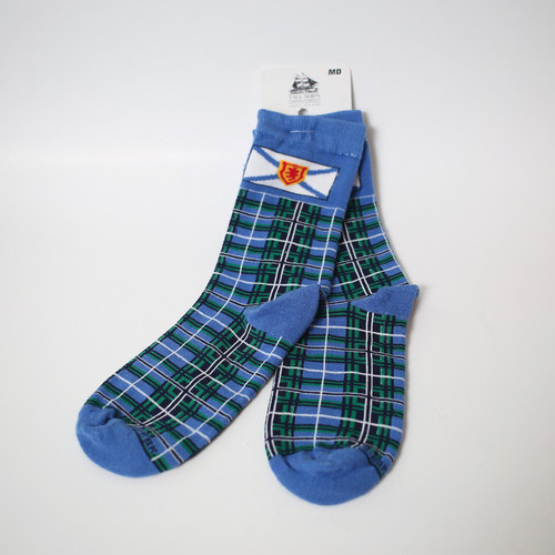 15741876feb14 Nova Scotia Tartan Socks- Medium