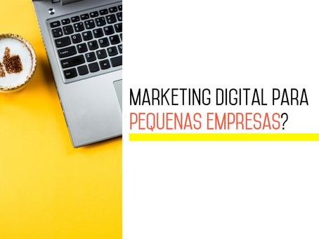 Marketing Digital Para Pequenas Empresas?