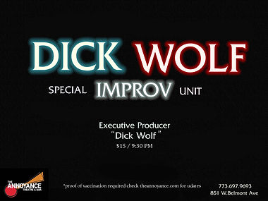 Dick Wolf: Special IMPROV Unit