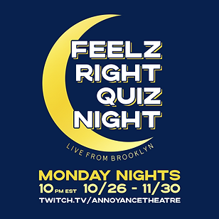 Feelz Right Quiz Night : Live-Stream