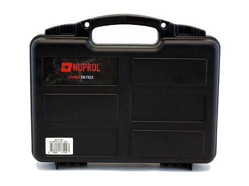 NUPROL WAVE FOAM SMALL HARD CASE (BLACK)