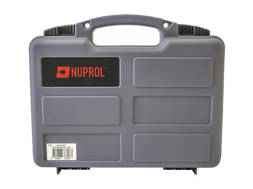 NUPROL WAVE FOAM SMALL HARD CASE (GREY)